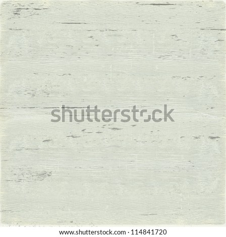 Painted wood surface texture - White - stock photo