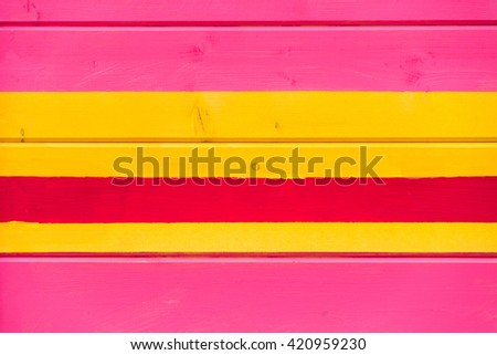 painted wooden wall, colorful line