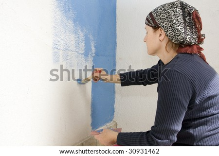 painting at home