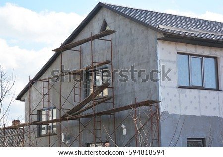 Stucco Facade Stock Images RoyaltyFree Images Vectors