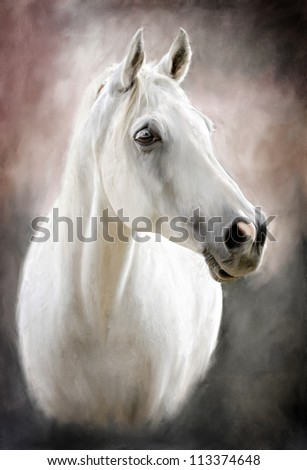 Horse Painting Stock Images, Royalty-Free Images & Vectors ...