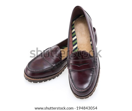 Womens loafer fetish