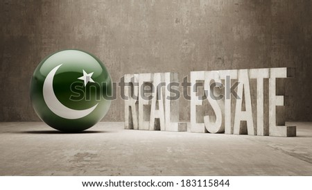 Pakistan High Resolution Real Estate Concept - stock photo