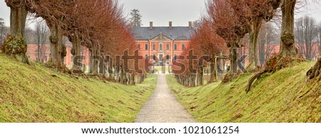 Palace of Bothmer (Germany) - Panoramic view