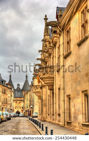 Palace of the Dukes of Lorraine in Nancy - France - stock photo
