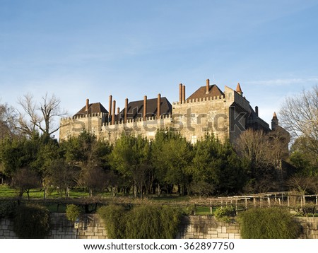 Palace of the Duques of Braganca - Guimaraes Portugal
