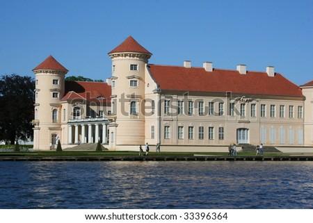 Palace Rheinsberg in Germany - stock photo