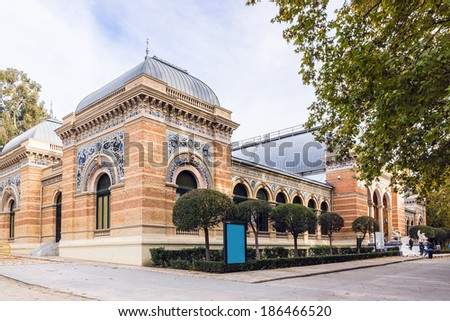 Palace Velasquez (Palacio de Velasquez or Palacio de Exposiciones) is an exhibition hall located in Buen Retiro Park, Madrid, Spain. It was built in 1881 � 1883, by architect Ricardo Velazquez Bosco.