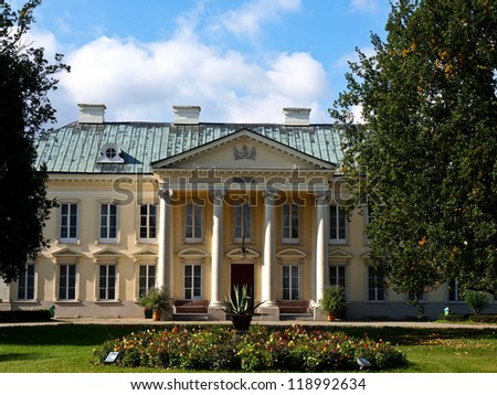 Palace where Napoleon met Marysienka, Walewice, Poland