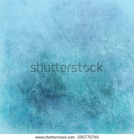 pale abstract blue background with whiter center and soft pastel vintage grunge background texture design light blue paper for baby boy or Easter background, old grungy paper for banner or scrapbook  - stock photo