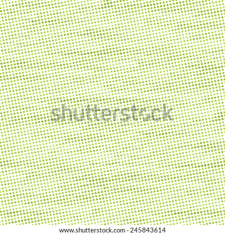 pale green halftone, subtle abstract background, little dots pattern - stock photo