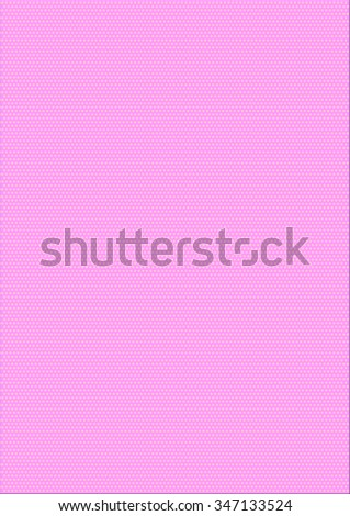 Pale pink christmas background with stars. Illustration - stock photo