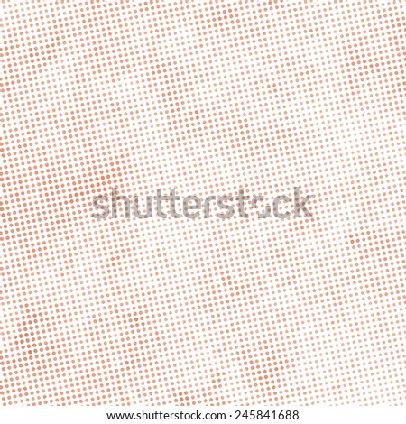 pale pink halftone background, little dots raster texture - stock photo
