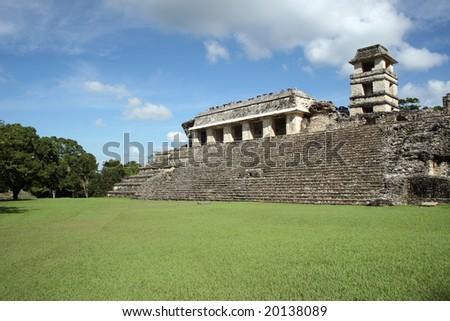 Palenque - stock photo
