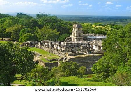 Palenque, Mexico - stock photo
