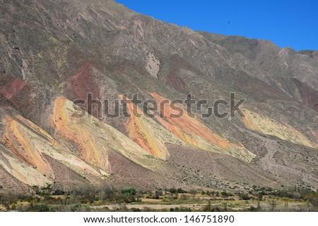 Paleta del Pintor, Maimara - stock photo