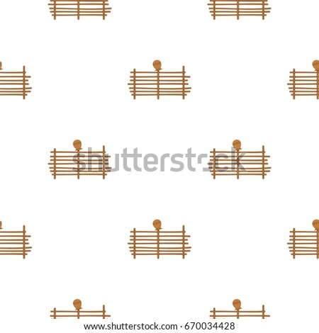 Palisade pattern seamless for any design  illustration