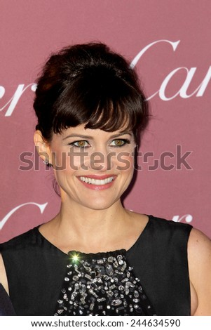 PALM SPRINGS, CA - JAN 3: Carla Gugino arrives at the 2015 Palm Springs International Film Festival Awards Gala at the Palm Springs Convention Center on January 3, 2015 in Palm Springs, CA. - stock photo