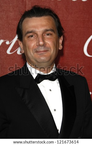 PALM SPRINGS, CA - JAN 7: Emmanuel Perrin at the 23rd Annual Palm Springs International Film Festival Awards Gala at the Palm Springs Convention Center on January 7, 2012 in Palm Springs, California - stock photo