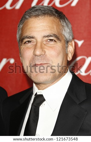 PALM SPRINGS, CA - JAN 7: George Clooney at the 23rd Annual Palm Springs International Film Festival Awards Gala at the Palm Springs Convention Center on January 7, 2012 in Palm Springs, California - stock photo