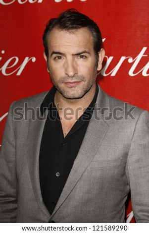 PALM SPRINGS, CA - JAN 7: Jean Dujardin at the 23rd Annual Palm Springs International Film Festival Awards Gala at the Palm Springs Convention Center on January 7, 2012 in Palm Springs, California - stock photo