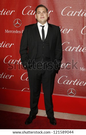 PALM SPRINGS, CA - JAN 7: Jonah Hill at the 23rd Annual Palm Springs International Film Festival Awards Gala at the Palm Springs Convention Center on January 7, 2012 in Palm Springs, California - stock photo