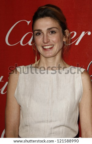 PALM SPRINGS, CA - JAN 7: Julie Gayet at the 23rd Annual Palm Springs International Film Festival Awards Gala at the Palm Springs Convention Center on January 7, 2012 in Palm Springs, California - stock photo