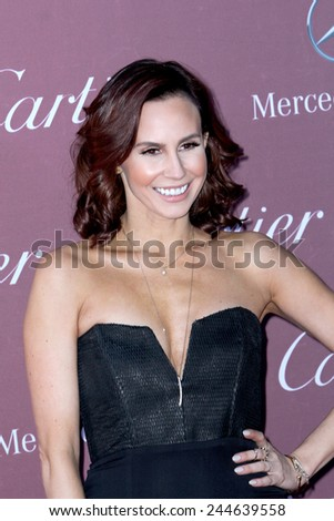 PALM SPRINGS, CA - JAN 3: Keltie Knight arrives at the 2015 Palm Springs International Film Festival Awards Gala at the Palm Springs Convention Center on January 3, 2015 in Palm Springs, CA. - stock photo