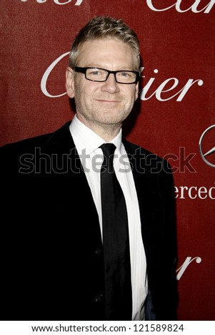 PALM SPRINGS, CA - JAN 7: Kenneth Branagh at the 23rd Annual Palm Springs International Film Festival Awards Gala at the Palm Springs Convention Center on January 7, 2012 in Palm Springs, California - stock photo