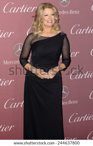 PALM SPRINGS, CA - JAN 3: Mary Hart arrives at the 2015 Palm Springs International Film Festival Awards Gala at the Palm Springs Convention Center on January 3, 2015 in Palm Springs, CA. - stock photo