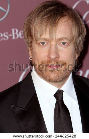 PALM SPRINGS, CA - JAN 3: Morten Tyldum arrives at the 2015 Palm Springs Film Festival Awards Gala at the Palm Springs Convention Center on January 3, 2015 in Palm Springs, CA. - stock photo