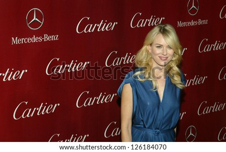 PALM SPRINGS, CA - JAN 5: Naomi Watts arrives at the 2013 Palm Springs International Film Festival's Awards Gala at the Palm Springs Convention Center on January 5, 2013 in Palm Springs, CA. - stock photo