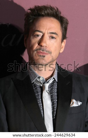 PALM SPRINGS, CA - JAN 3: Robert Downey Jr. arrives at the 2015 Palm Springs International Film Festival Awards Gala at the Palm Springs Convention Center on January 3, 2015 in Palm Springs, CA. - stock photo