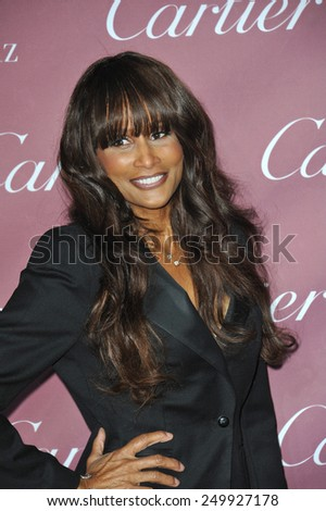 PALM SPRINGS, CA - JANUARY 6, 2015: Beverly Johnson at the 2015 Palm Springs Film Festival Awards Gala at the Palm Springs Convention Centre.  - stock photo