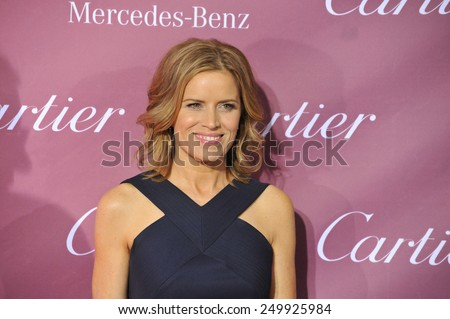 PALM SPRINGS, CA - JANUARY 6, 2015: Kim Dickens at the 2015 Palm Springs Film Festival Awards Gala at the Palm Springs Convention Centre.  - stock photo