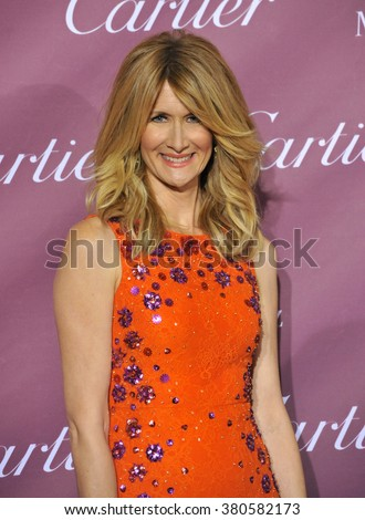 PALM SPRINGS, CA - JANUARY 3, 2015: Laura Dern at the 2015 Palm Springs Film Festival Awards Gala at the Palm Springs Convention Centre.