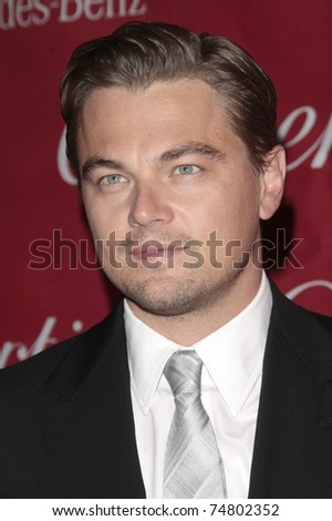 PALM SPRINGS - Jan 6:  Leonardo DiCaprio attends the 20th Palm Springs Film Festival Gala on January 6, 2009 in Palm Springs, California.