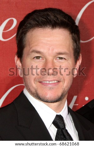 PALM SPRINGS - JAN 8: Mark Wahlberg arrives at the Palm Springs International Film Festival 2011 Awards Gala at Palm Springs Convention Center on January 8, 2011 in Palm Springs, CA. - stock photo