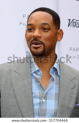 PALM SPRINGS - JAN 3:  Will Smith at the Variety Creative Impact Awards And 10 Directors To Watch Brunch at the The Parker Hotel on January 3, 2016 in Palm Springs, CA - stock photo