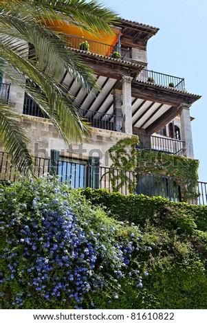 Palma City (Majorca Spain) - stock photo
