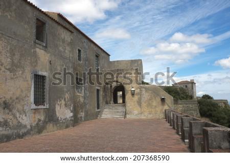 Palmela castle, Portugal, Europe - stock photo