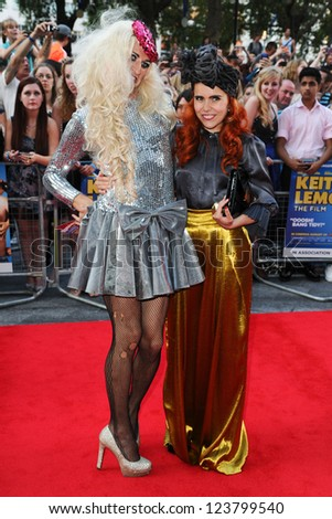 "Paloma Faith arriving for the premiere of ""Keith Lemon: The Film"" at the Vue Cinema, Leicester Square, London. 21/08/2012. Picture by: Steve Vas"