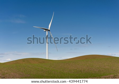 Palouse Wind Farm. Palouse Wind is a 105 megawatt wind farm located in northern Whitman County. Wind has emerged as the countryâ??s fastest-growing source of new energy.