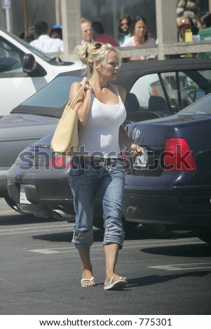 Pamela Anderson - stock photo