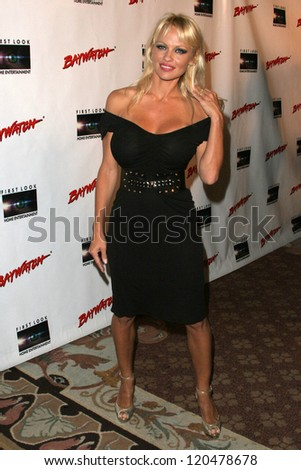 "Pamela Anderson at the DVD Release of ""Baywatch"" Seasons One and Two. Casa Del Mar, Santa Monica, CA. 10-30-06"