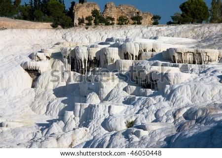 Pamukkale, Turkey - stock photo