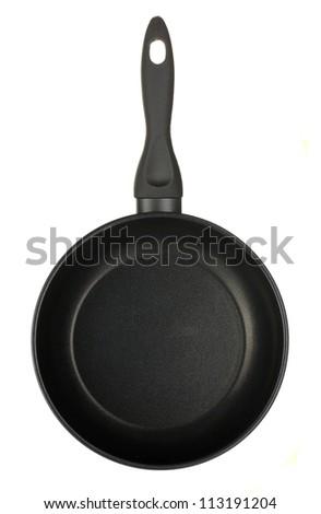 Pan isolated on white - stock photo