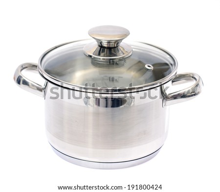 Pan Isolated on White Background - stock photo