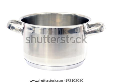 Pan Isolated on White Background