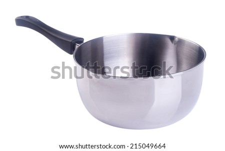 pan. pan on the background - stock photo